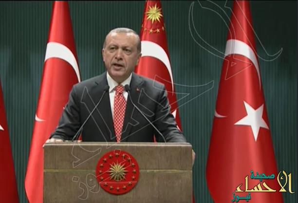 أردوغان : عدد المحتجزين منذ محاولة الانقلاب العسكري أكثر من 13 ألف شخص