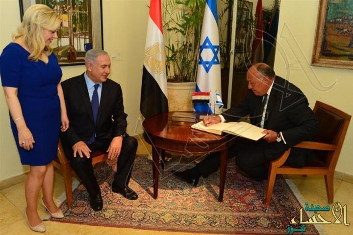 """نتنياهو بعد لقائه شكري.. التعاون مع مصر """"ذخر لإسرائيل"""" !"""