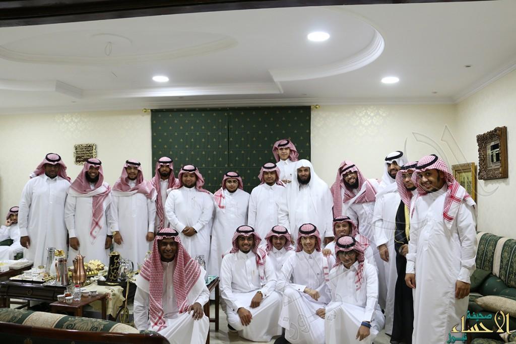 الشيخ محمد المقهوي يستقبل المهنئين بعيد الفطر