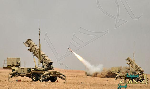 """""""الباتريوت"""" تعترض صاروخاً باليستياً أطلقته مليشيا الحوثي وصالح نحو مأرب"""