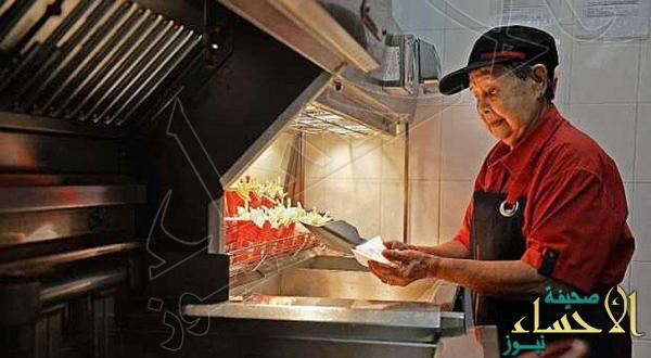 """عجوز عمرها 92 عامًا ترجع للعمل بـ""""ماكدونالدز"""".. فما السبب ؟!"""