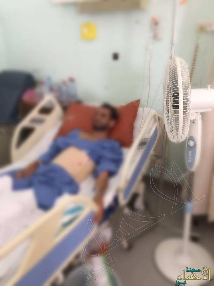 """بالصور.. مستشفى """"الملك فهد"""" في #الأحساء """"يغلي"""" وكارثة طبية في الأفق !!"""