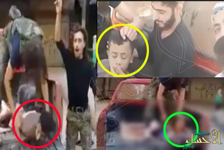 """مقطع لـ""""ذبح طفل فلسطيني"""" في حلب يُشعل مواقع التواصل !"""