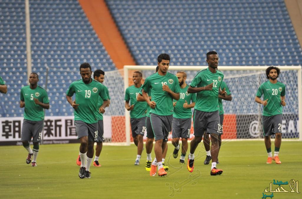 بالصور .. #المنتخب_السعودي ينهي استعداداته لمواجهة #تايلاند