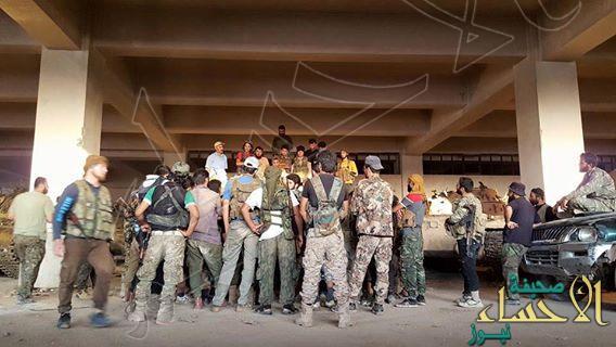 بالصورة .. المعارضة السورية تعلن فك الحصار عن مدينة #حلب