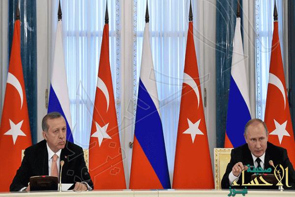 """أردوغان يصالح بوتين بـ""""100 مليار دولار"""" حصيلة صفقات وعد بها في قصر """"قسطنطين"""" !"""