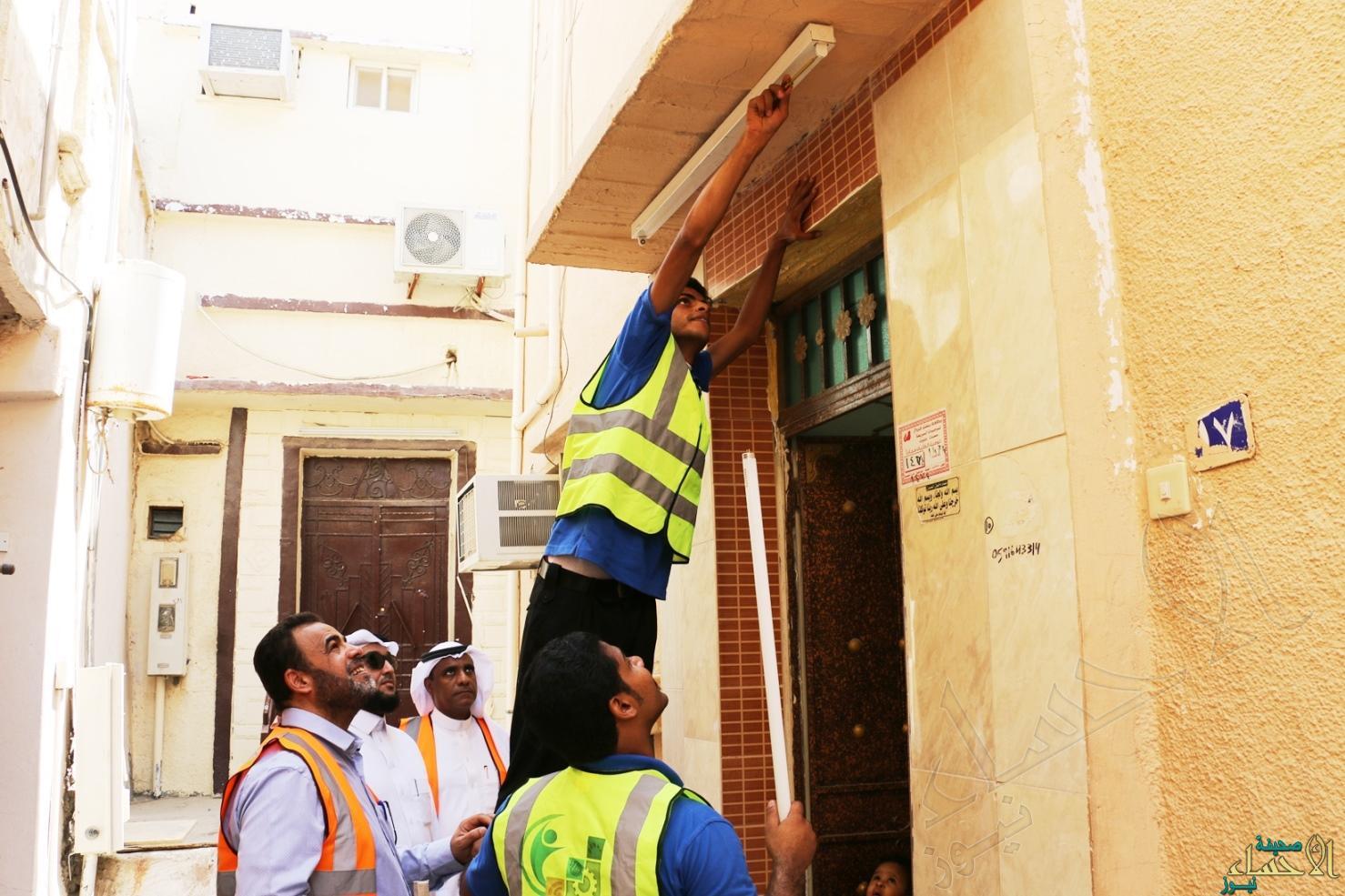 جانب أعمال الصيانة التطوعية