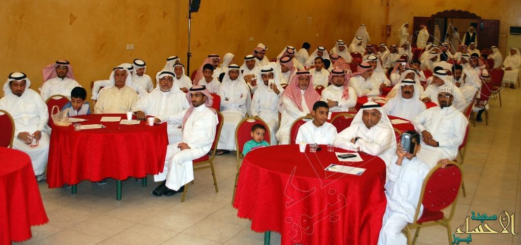 جانب من الحضور في الحفل من أبناء العائلة