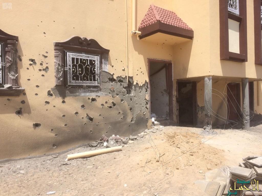 سقوط مقذوف عسكري من الأراضي اليمنية تصيب مواطن