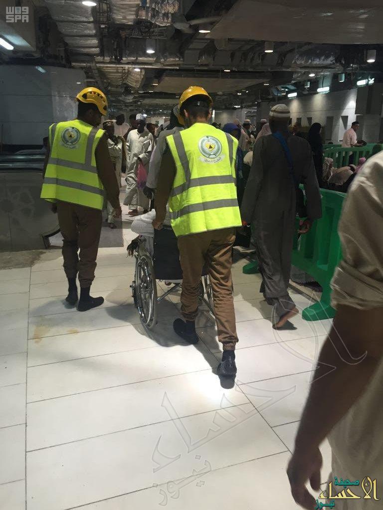 الدفاع المدني: أكثر من 50 نقطة لتقديم الدعم والمساندة في حالات الطوارئ بالمسجد الحرام