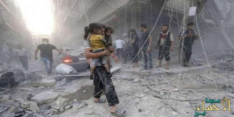 100 ألف غارة لطاغية سوريا تقتل ألفي طفل.. وهذا حصاد الروس للرؤوس!