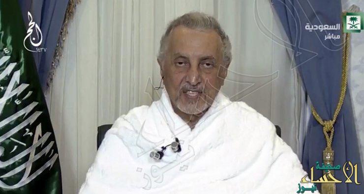الأمير خالد الفيصل: ٥٪ عدد الحجاج غير النظاميين هذا العام