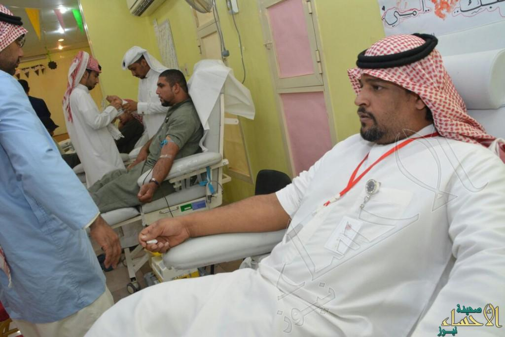 بالصور… ٩١ متبرع في أول أيام حملة التبرع بالدم في جمعية العيون الخيرية