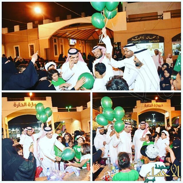 أسواق القرية تُشارك مُرتاديها فرحة اليوم الوطني الـــ86