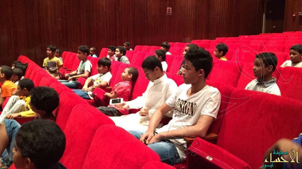 """بالصور.. 30 مشاركاً يختتمون برنامج """"مسرح الطفل"""" في """"أفلاذ"""""""