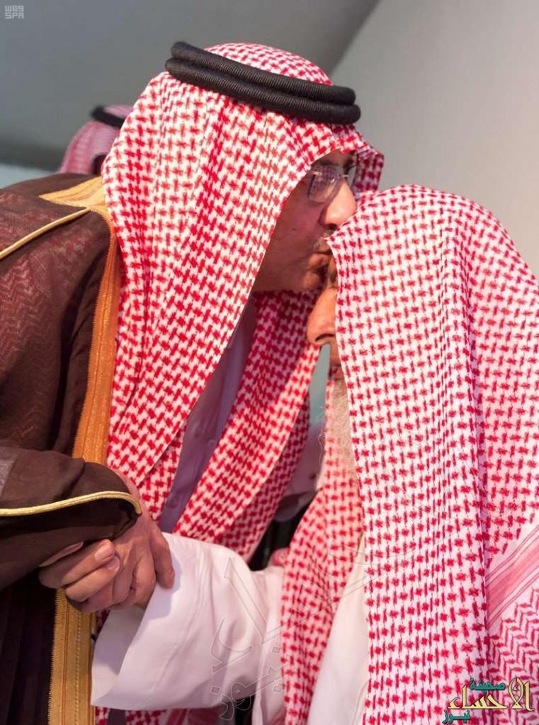 بالصور.. ولي العهد يزور سماحة مفتي عام المملكة والشيخ صالح الفوزان