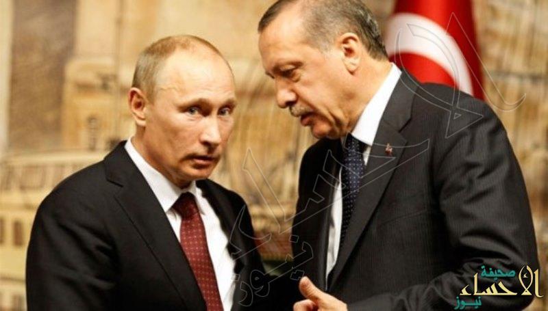 """""""أردوغان"""" في حضور """"بوتين"""":  أطفال حلب يُقصفون من سماء مدينتهم !"""