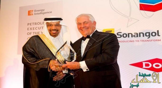 """""""الفالح"""" يفوز بلقب أفضل مسؤول تنفيذي للبترول في العالم"""