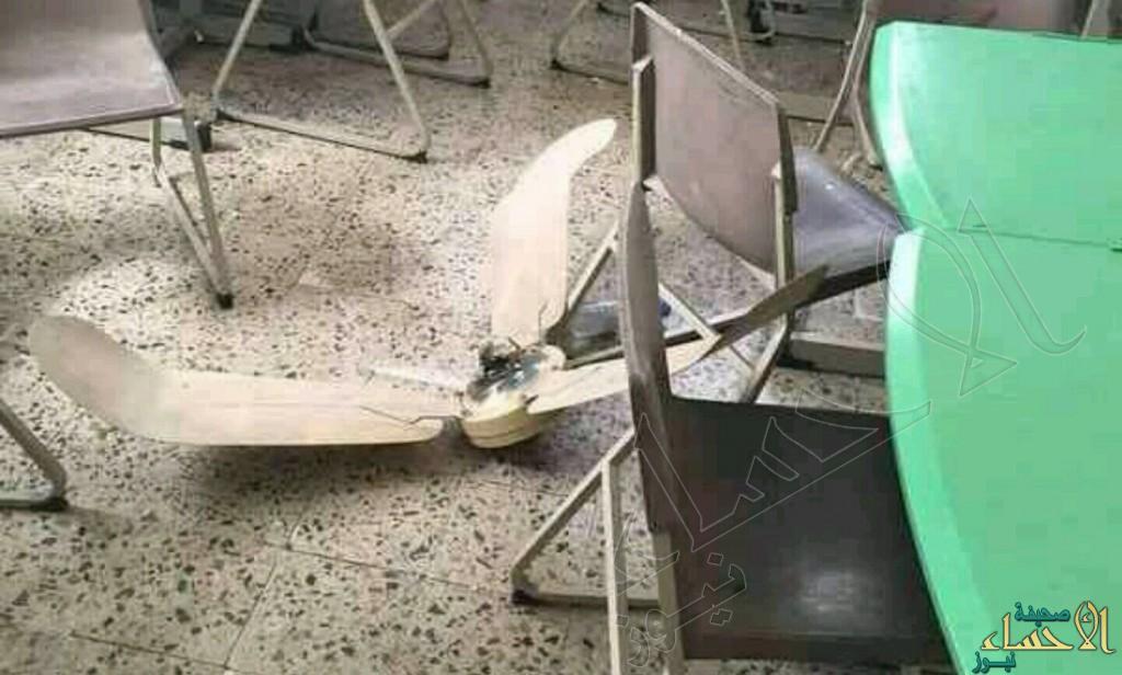 نجاة طالبة بأعجوبة بعد سقوط مروحة عليها