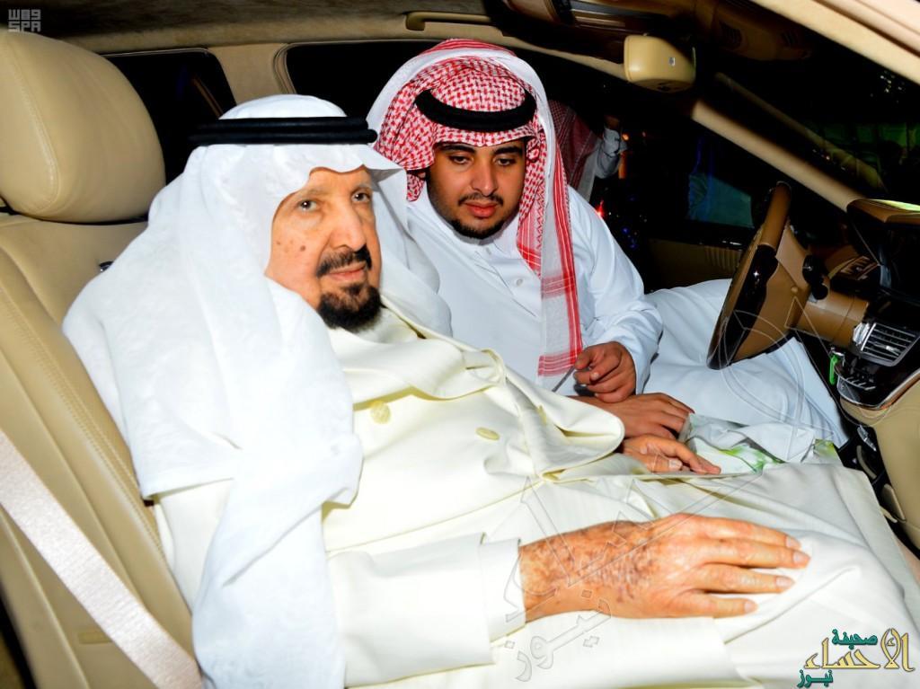 سمو الأمير عبدالرحمن بن عبدالعزيز يغادر متوجهاً إلى خارج المملكة