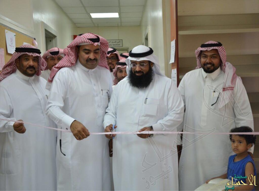 """""""السلطان"""" يفتتح معرض توعوي بمناسبة «الشهر العالمي لسرطان الثدي» بصحي الراشدية"""