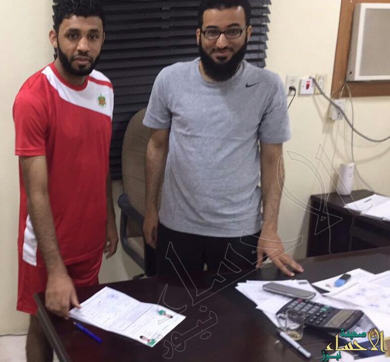 """""""قاسم الجاسم"""" يوقع مع الروضة للفريق الأول في خط الهجوم"""