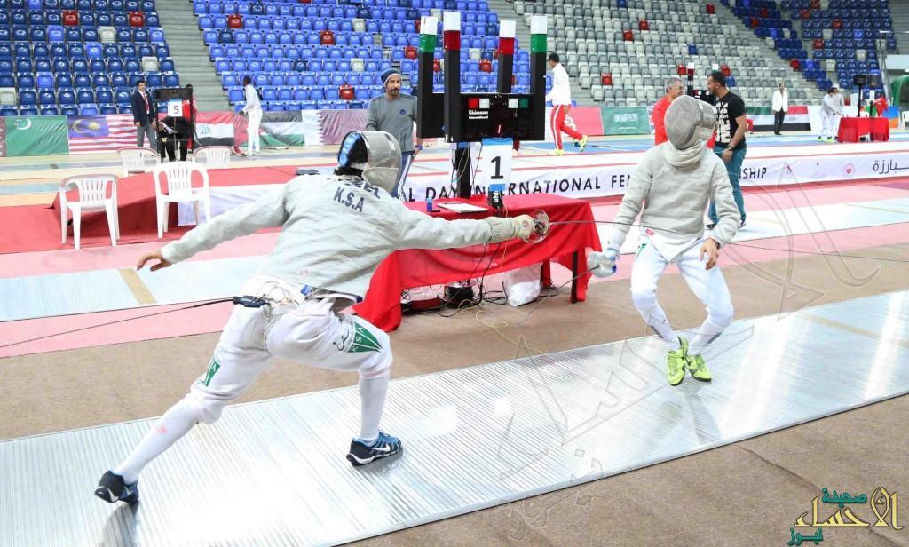 أخضر المبارزة يشارك في بطولة العالم للناشئين بالبحرين