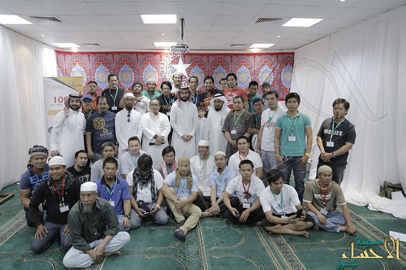 """أكثر من 1000 مسلماً جديداً نتاج جهود """"تعاوني"""" الأحساء في 1437هـ"""