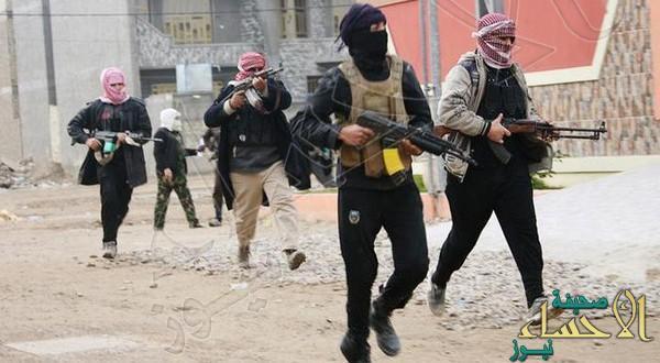 هروب جماعي لعناصر داعش نحو الحدود السورية