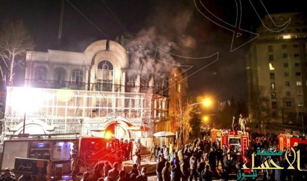 مدبر اقتحام السفارة السعودية يقدم دليل إدانة الأمن الإيراني