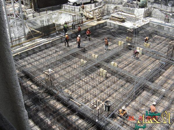 تكلفة البناء تنخفض بنسبة 35% خلال الربع الأخير من 2016