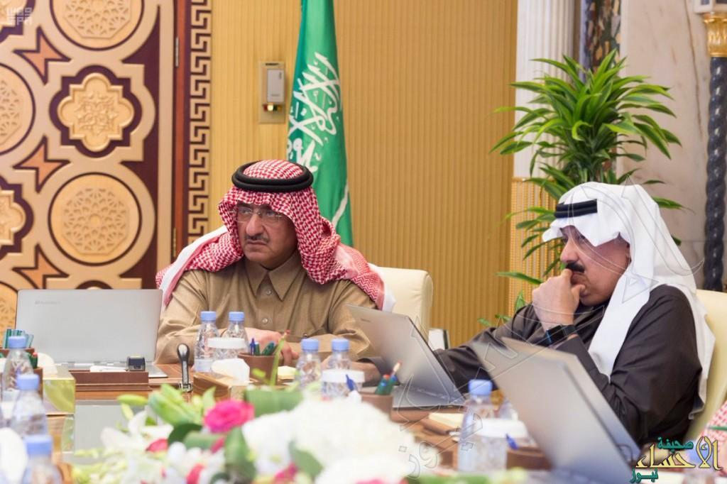 بالصور.. ولي العهد يرأس اجتماع مجلس الشؤون السياسية والأمنية