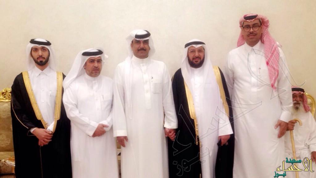 """بالصور..أسرة العجلان تحتفل بزواج ابنها """"سالم """""""