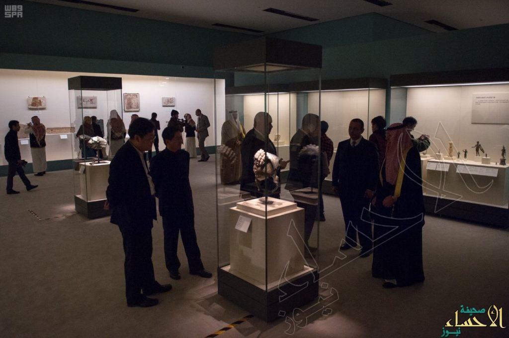 """إقبال صيني كبير على معرض """"روائع آثار المملكة"""" في بكين"""