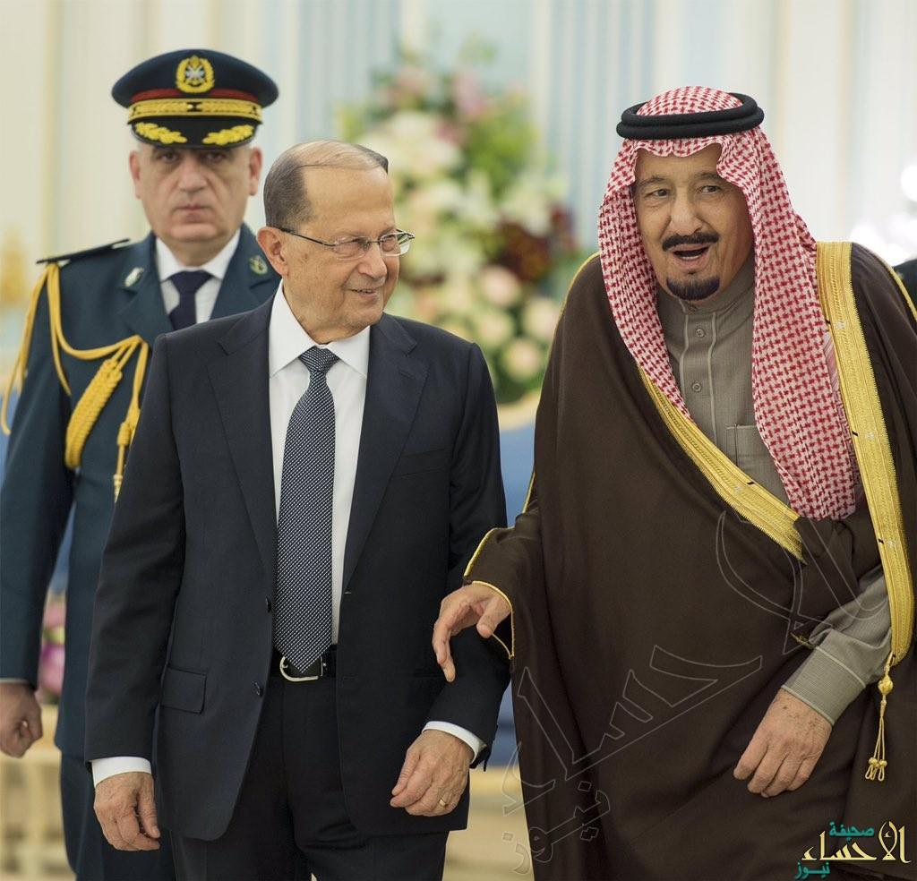 """بالفيديو.. """"عون"""" من الرياض: نستهدف تبديد الالتباس بين البلدين ..ومعاً سنحارب الإرهاب"""