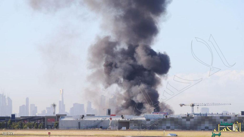 اصطدام طائرة بمركز تجاري بأستراليا ومقتل 5 كانوا على متنها