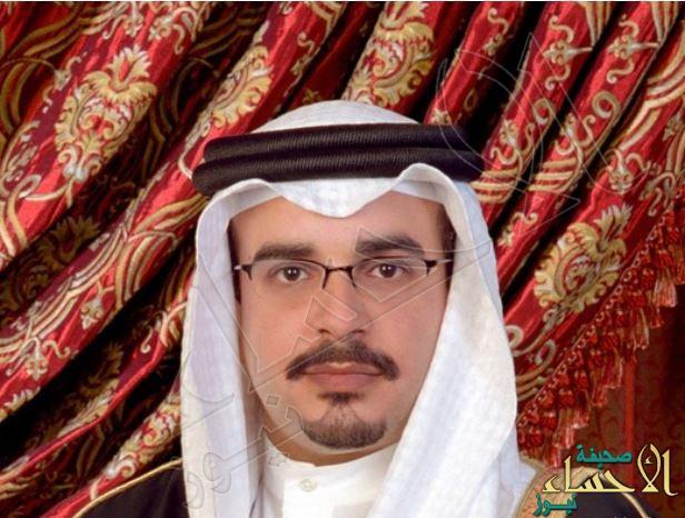 ولي عهد مملكة البحرين يصل إلى الرياض و ولي العهد في مقدمة مستقبليه