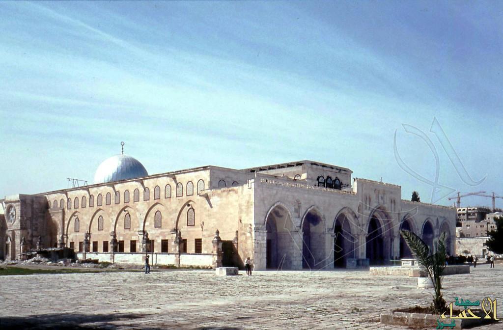 انهيارات أرضية جنوب الأقصى بسبب الحفريات الاسرائيلية