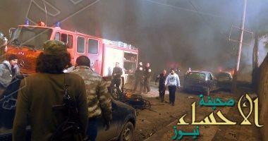 عملية إرهابية وسط المنامة تلحق أضراراً بعدد من السيارات