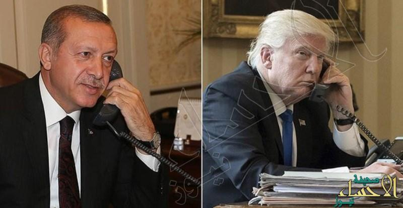 ترامب يؤكد في اتصال مع أردوغان دعم أمريكا لتركيا