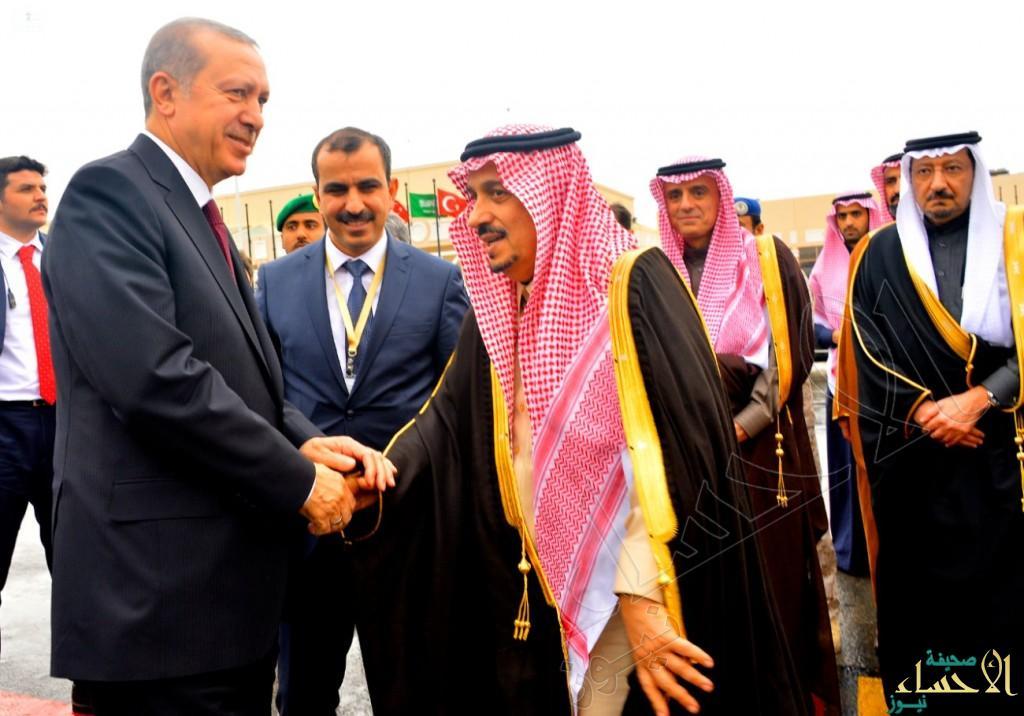 الرئيس التركي يغادر الرياض