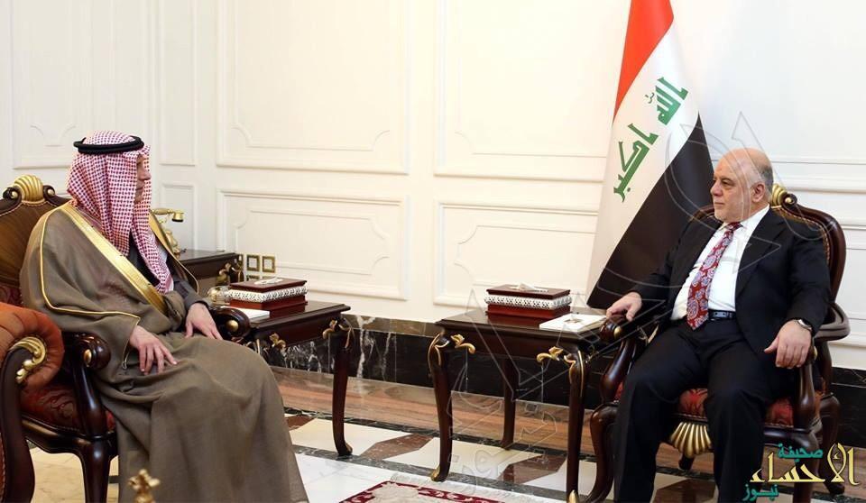 الجبير يبلغ العبادي بتعيين سفير سعودي جديد في العراق