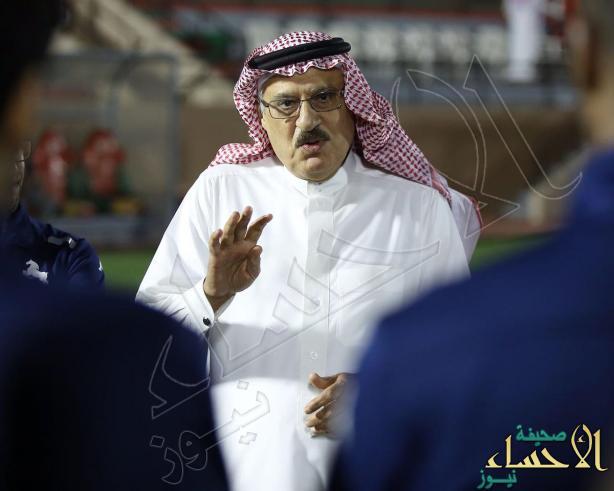 خليل الزياني للاعبي #الاتفاق: ترتدون شعاراً غالياً.. فأخلصوا له