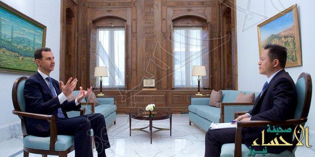 """ماذا قال بشار """"الأسد"""" عن """"ترمب"""" و""""داعش"""" ؟!"""