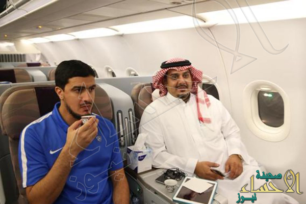 طائرة خاصة تنقل الهلال إلى مسقط لمواجهة بيروزي