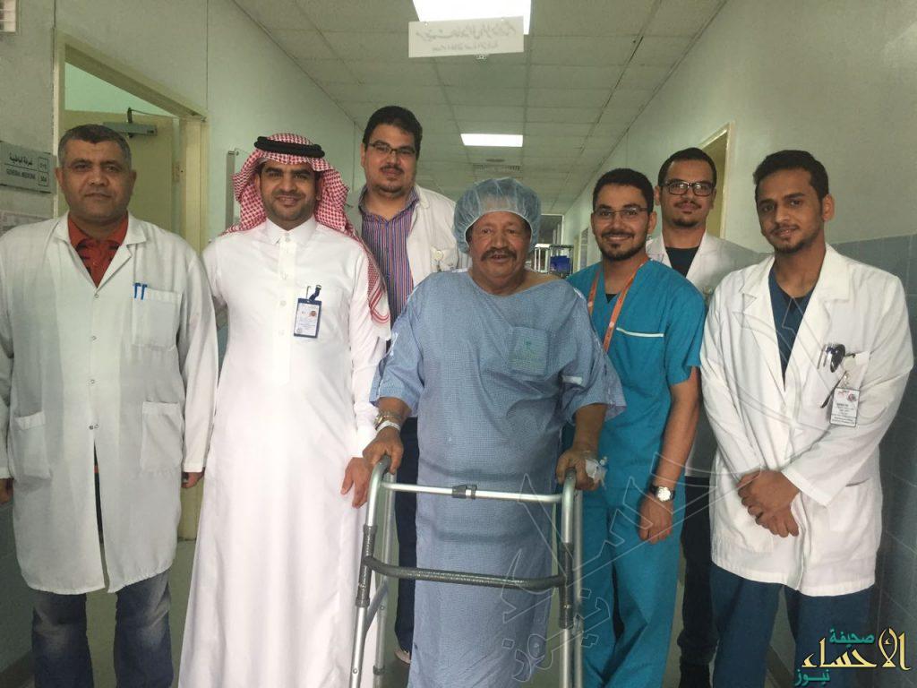 بالصور.. عاد للمشي على قدميه بعد أكثر من سنتين من المعاناة في الأحساء
