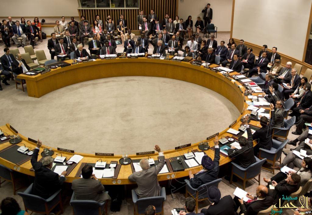مجلس الأمن يصوت على إجراء تحقيق في الهجوم الكيميائي بسوريا