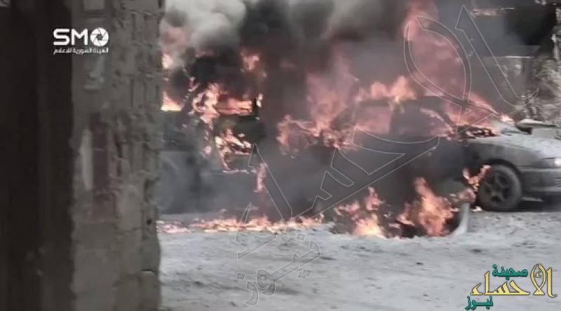 الأسد يرد على ضربة ترامب بالنابالم المحرم دوليًا
