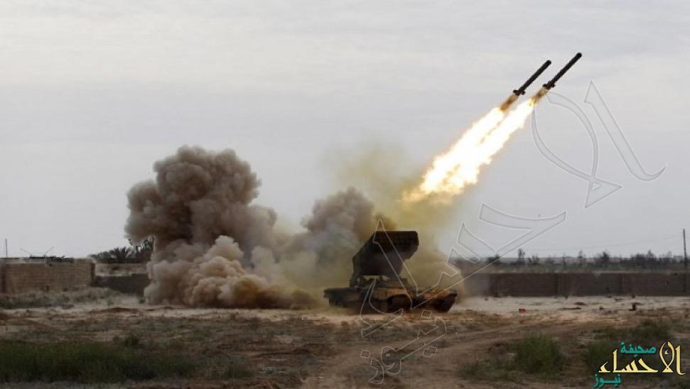 دفاعات التحالف تدمر صاروخين باليستيين بسماء مأرب