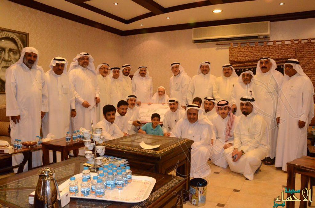 """بر """"الفيصلية"""" يُكرم""""البقشي"""" لدعمه بناء المقر الجديد بنصف مليون ريال"""